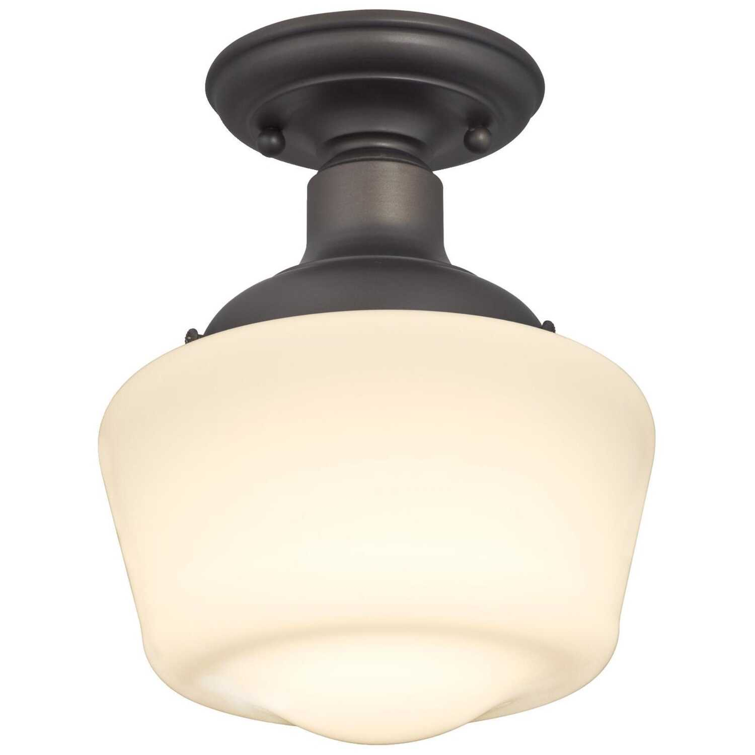 Westinghouse  Scholar  11.42 in. H x 8.86 in. W x 8.86 in. L Ceiling Light