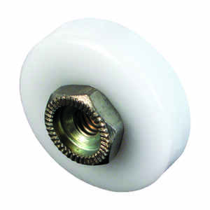 Prime-Line  7/8 in. Dia. x 1/4 in. L Nylon  Shower Door Roller  2 pk