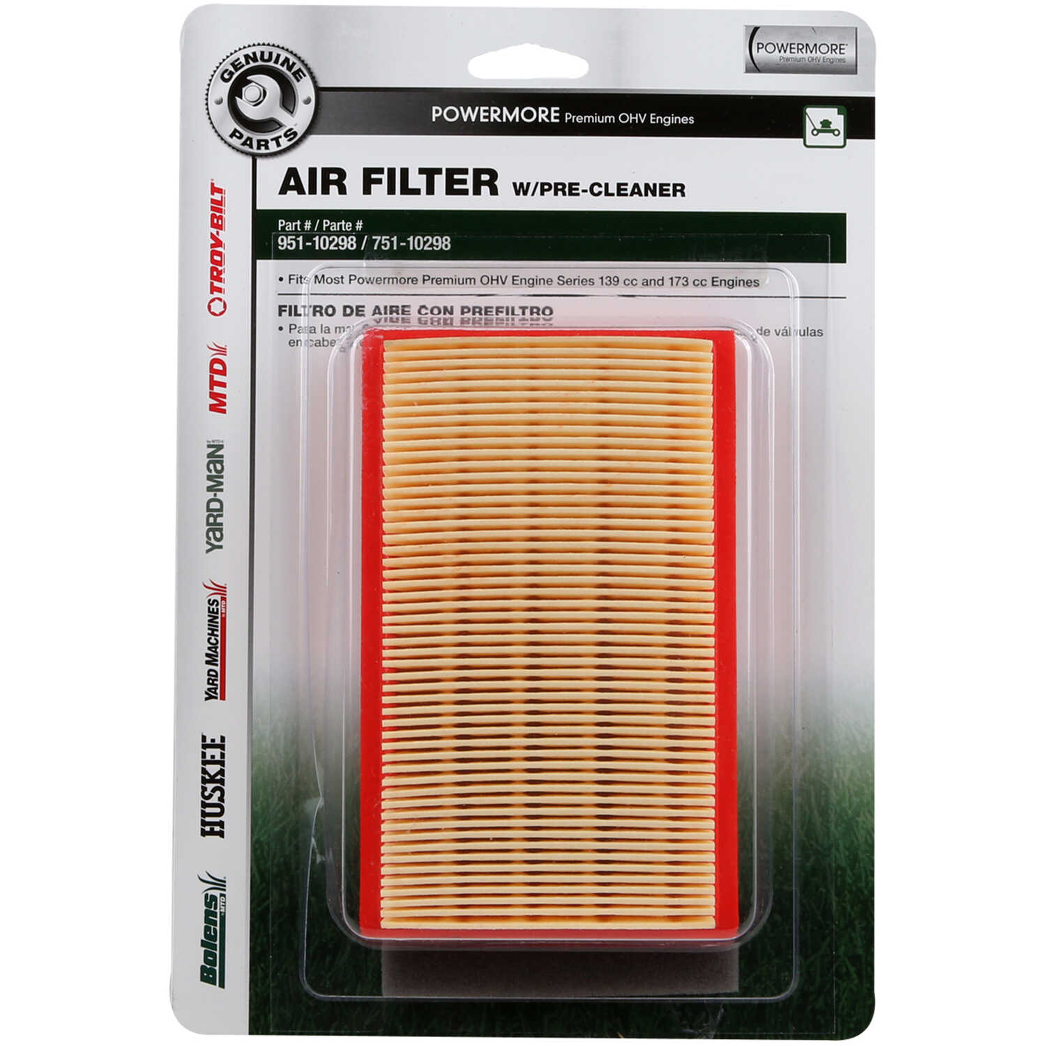 Arnold  Small Engine Air Filter