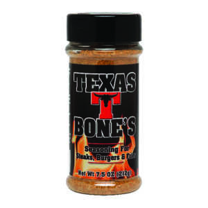 Texas T. Bone's  Meat Rub  Seasoning Rub  7.5 oz.