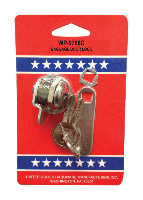 US Hardware  RV Baggage Door Lock  1 pk