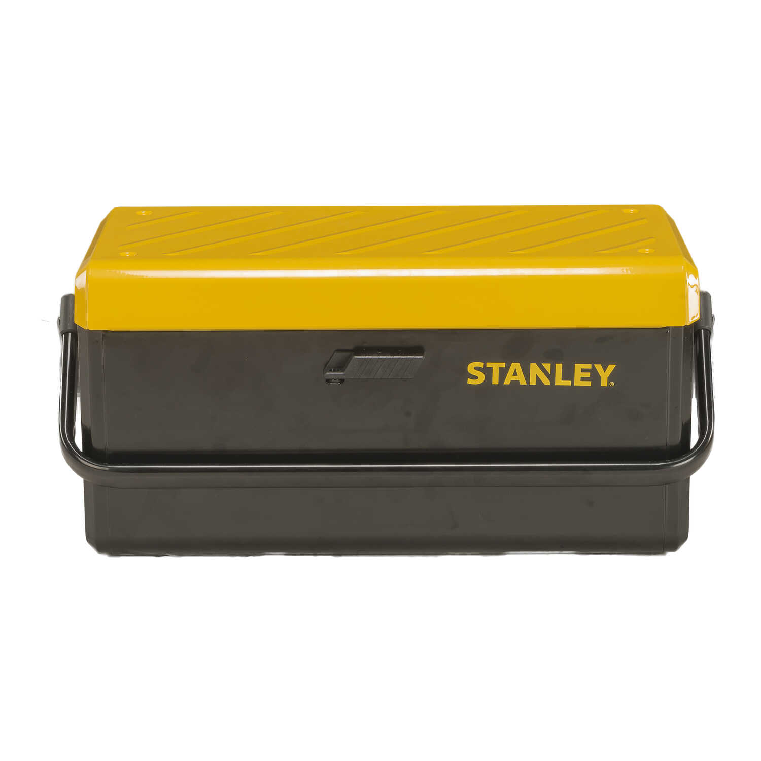 Stanley  11 in. W x 12 in. H 21 in. Tool Box  Metal  Black