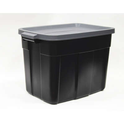 Rubbermaid  Roughneck  16.5 in. H x 15.9 in. W x 23.875 in. D Stackable Storage Box