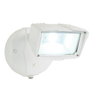 Halo  Dusk to Dawn  Hardwired  LED  White  Floodlight