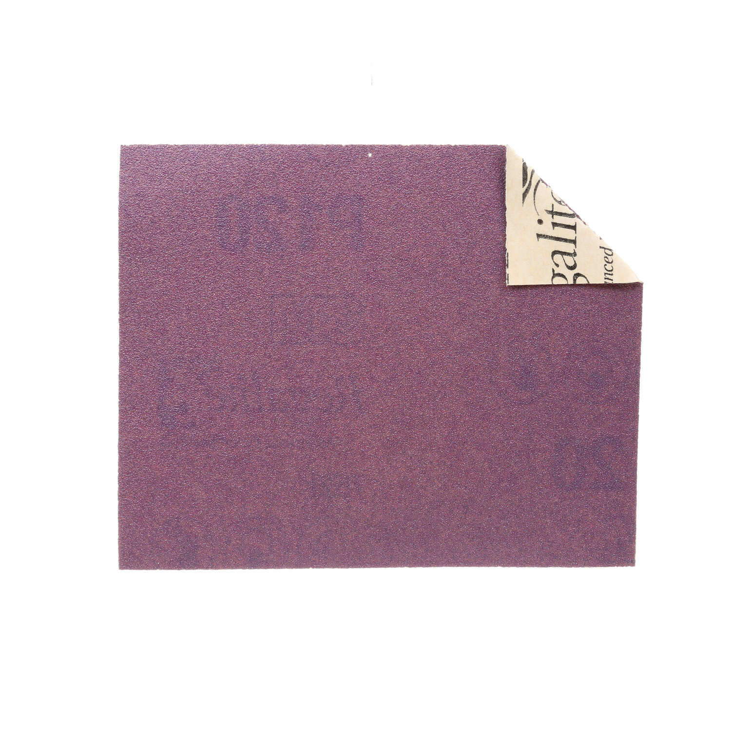 3M  Sandblaster  5-1/2 in. L x 5-1/2 in. L x 4-1/2 in. W Medium  120 Grit 4 pk 1/4 Sheet Sandpaper