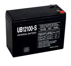 Universal Power Group  UB12100-S  10 CCA Lead Acid Battery