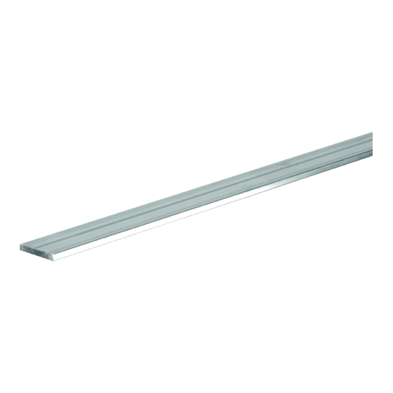 Boltmaster  0.125 in.  x 2 in. W x 4 ft. L Weldable Aluminum Flat Bar  5 pk