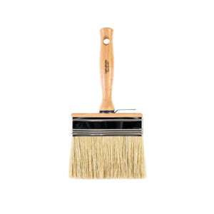 Wooster  Bravo Stainer  4-3/4 in. W Flat  Oil-Based Paint Brush