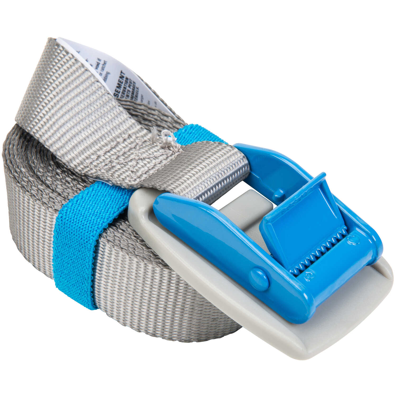 Keeper  1 in. W x 10 ft. L Gray  Lashing Strap  200 lb. 1 pk