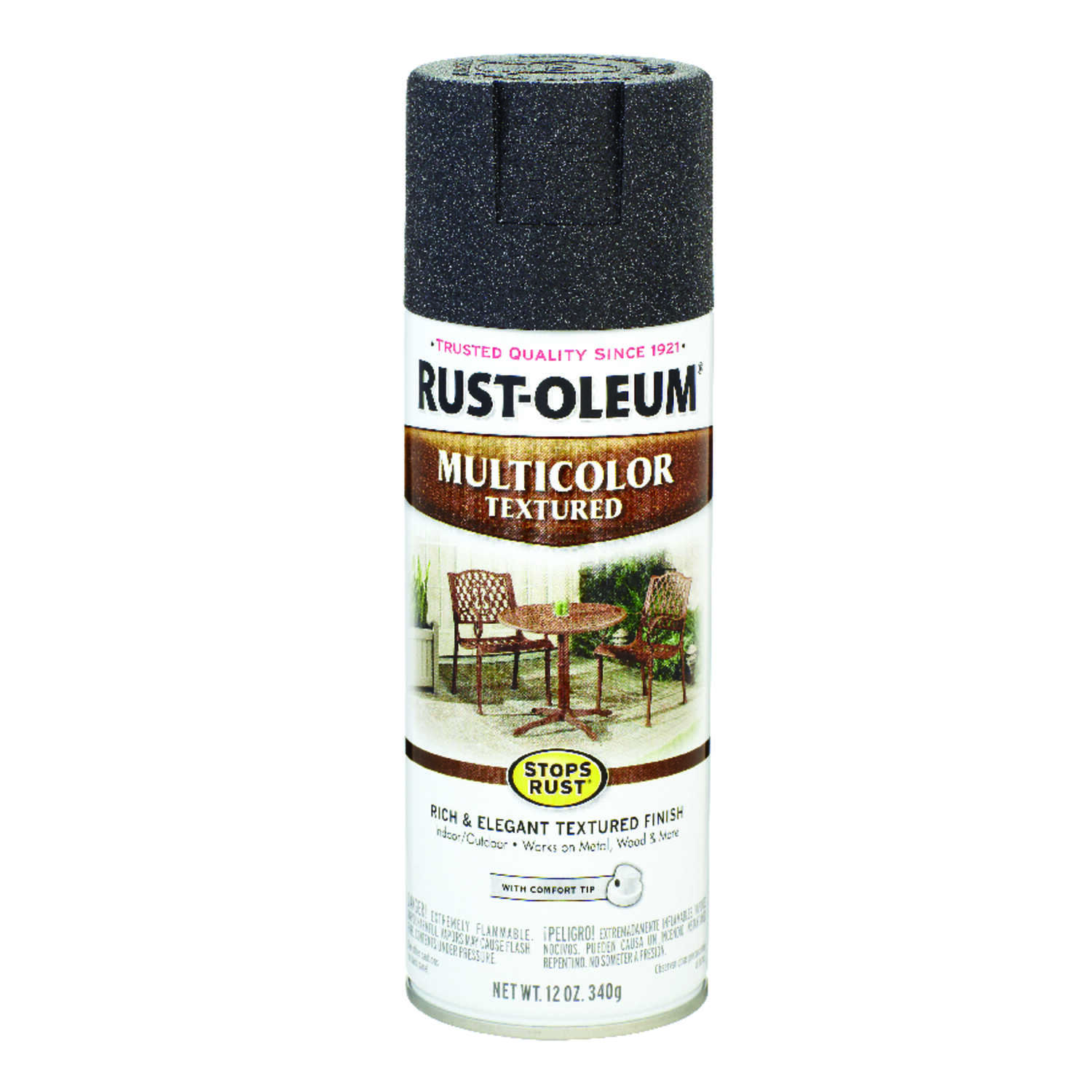 Rust-Oleum  Stops Rust  Spray Paint  12 oz. Aged Iron