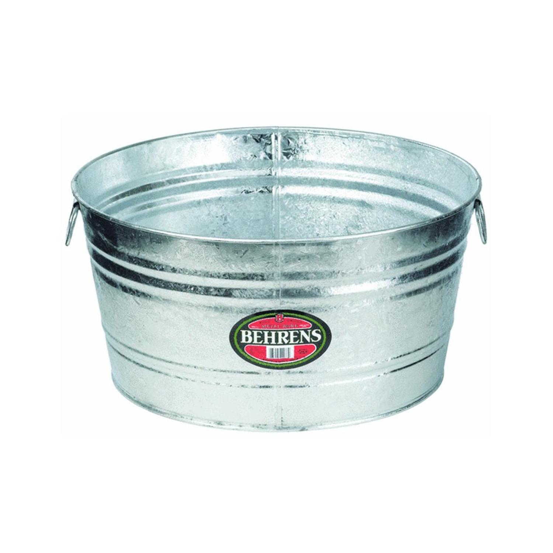 Behrens 9 gal. Steel Tub Round - Ace Hardware