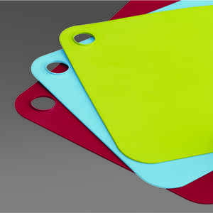 Joseph Joseph  Pop  9-1/2 in. W x 14-1/2 in. L Multicolored  Polyethylene  Flexible Cutting Board