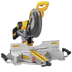 DeWalt 12 in. Corded Dual-Bevel Sliding Compound Miter Saw Bare Tool 120 volt 15 amps 3,800 rpm
