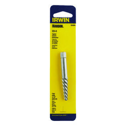 Irwin  Hanson  1/4 in.  x 1/4 in. Dia. Carbon Steel  Spiral Screw Extractor  6 in. 1 pc.