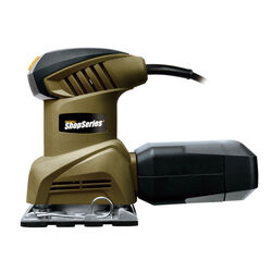 Rockwell  Shopseries  1/4 in. Corded  Single Speed Random Orbit Sander  2 amps 120 volt 12000 opm Gr