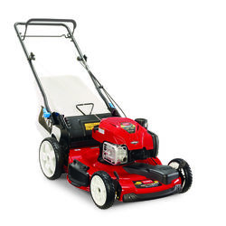 Toro  Smart Stow  22 in. 163 cc Gas  Self-Propelled Lawn Mower
