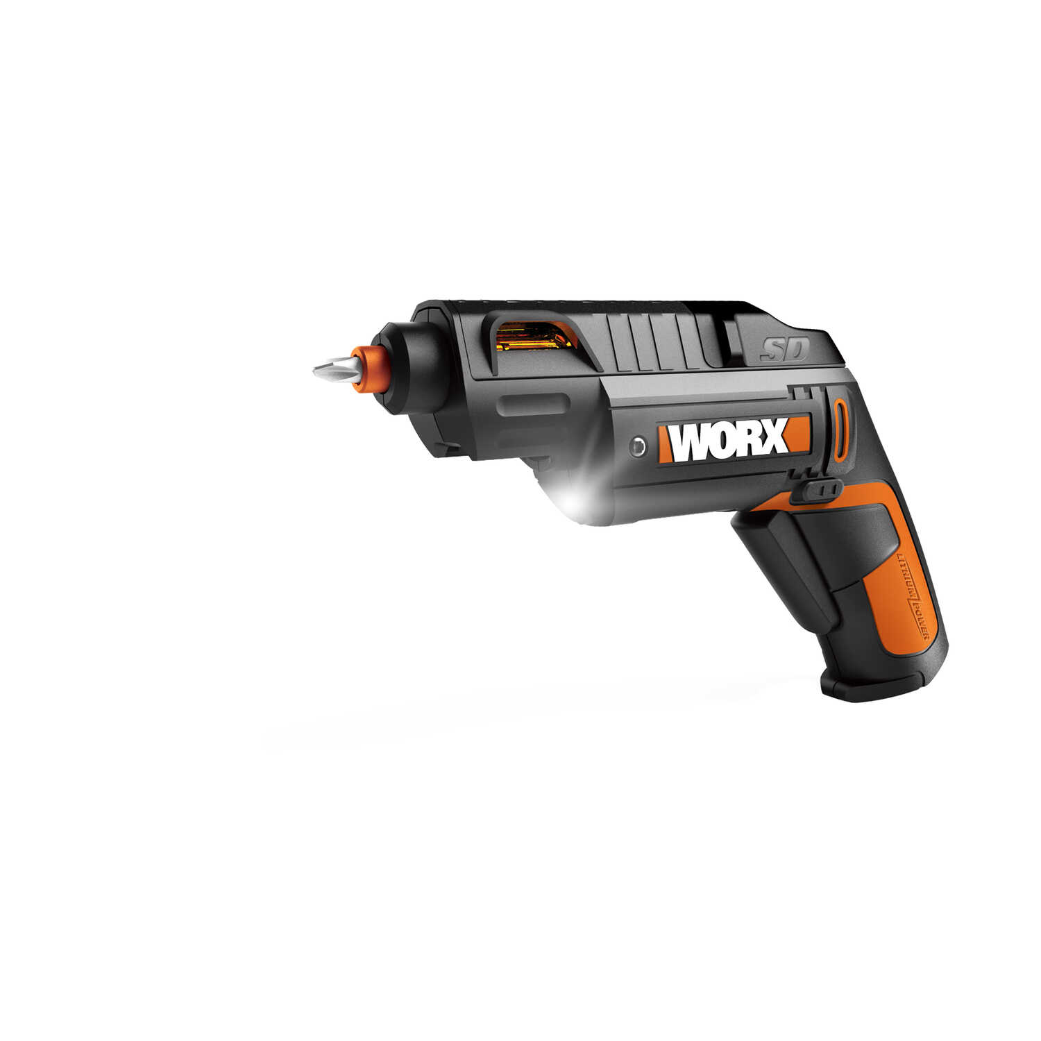 Rockwell  Worx  1/4 in. Cordless  Keyless  Semi-Automatic Driver  4 volt 230 rpm 16 pc.