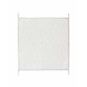 M-D Building Products  White  Aluminum  Door Grille  1 pk