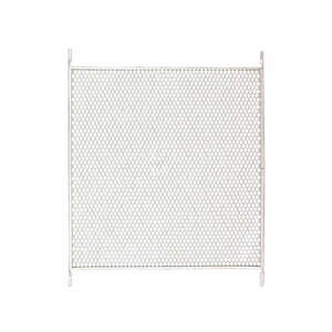 M-D Building Products  White  Aluminum  Bottom mount Door Grille  1 pk