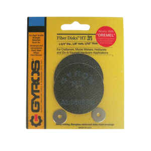 Gyros Tools  Fiber Disk High Tensile  1-3/4 in. Dia. x 1/8 in.  Fiberglass  Cutting Disc  2 pc.