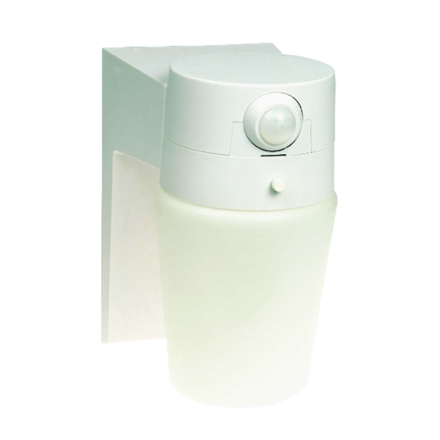 Heath Zenith  Motion-Sensing  Hardwired  Incandescent  White  Security Light