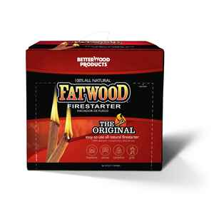 Better Wood Products  Fatwood  Fire Starter  0.25 cu. ft.