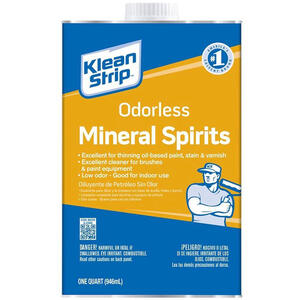 Klean Strip  Odorless Mineral Spirits  1 qt.
