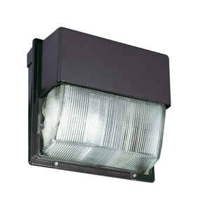Lithonia Lighting  LED  72 watts Bronze Aluminum Wall Pack