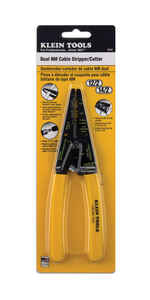 Klein Tools  14 Ga. 7.75 in. L Dual-Wire Cutter/Stripper