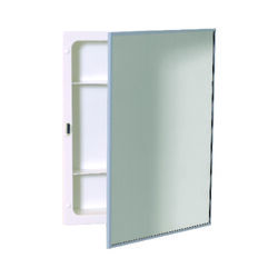 Zenith  20-1/8 in. H x 16-1/8 in. W x 3.25 in. D Rectangle  Medicine Cabinet