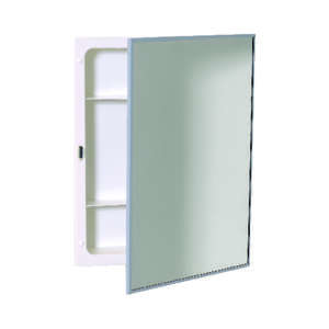 Zenith Metal Products  20-1/4 in. H x 16-1/8 in. W x 4-1/8 in. D Rectangle  Medicine Cabinet