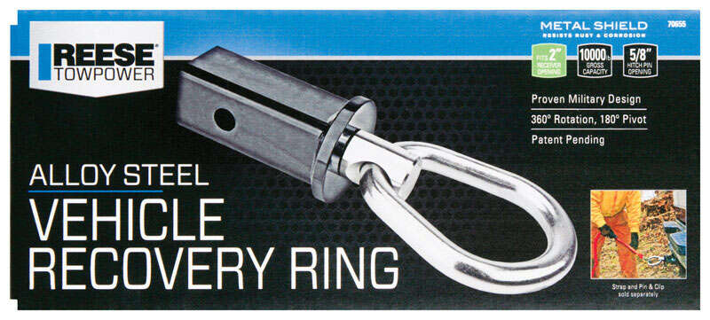 Reese  Towpower  Steel  Vehicle Recovery Ring