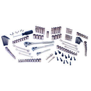 Craftsman  3/8 in.  x 1/4, 3/8 and 1/2 in. drive  Metric and SAE  6 and 12 Point Mechanic�s Tool Set