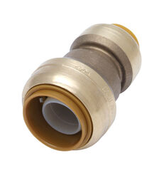 SharkBite 3/4 in. Push x 1/2 in. Dia. Push Brass Reducing Coupling