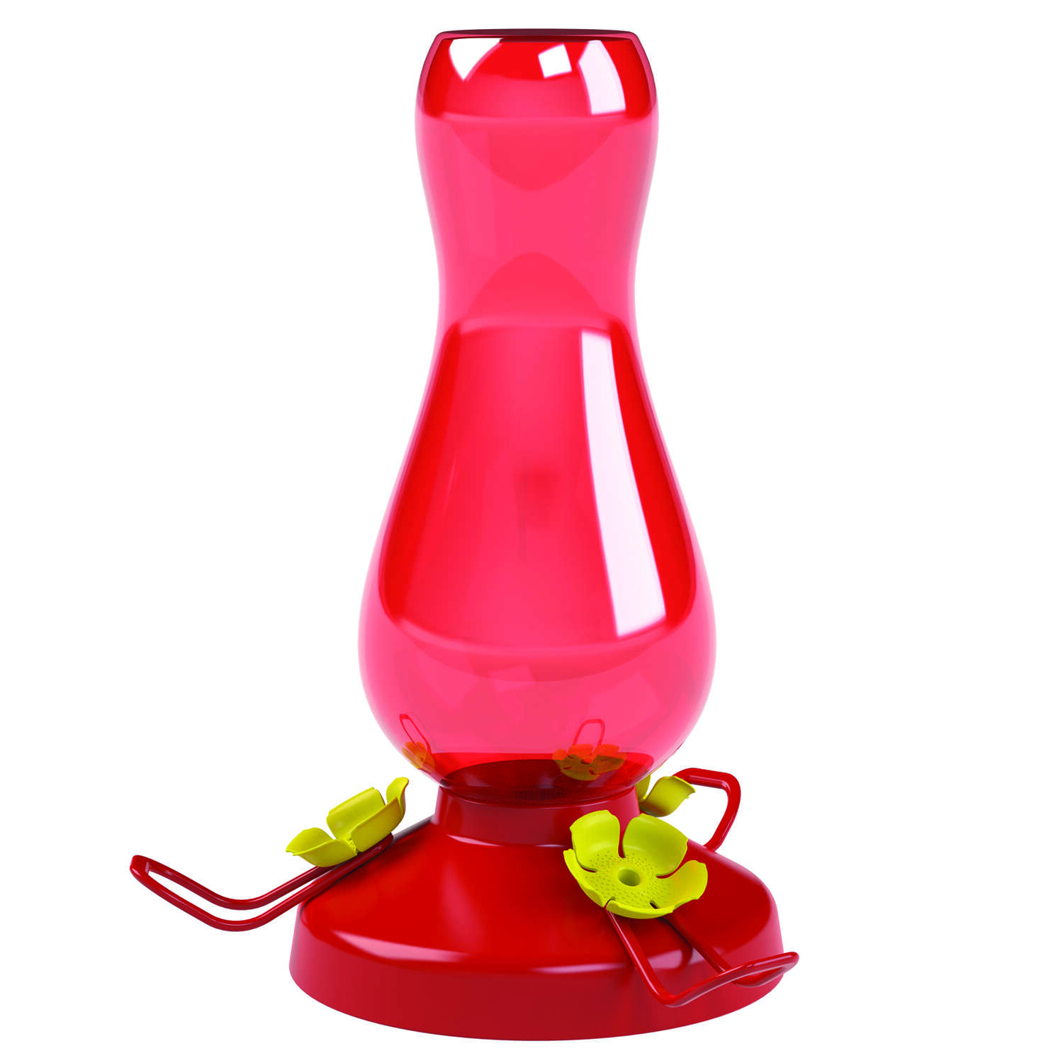 Perky-Pet Hummingbird 19 oz. Plastic Hummingbird Nectar Feeder