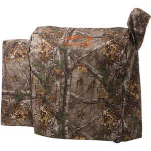 Traeger  Realtree  Brown  Grill Cover  22 in. W x 49 in. D x 39 in. H For 34 Series/Texas Grills