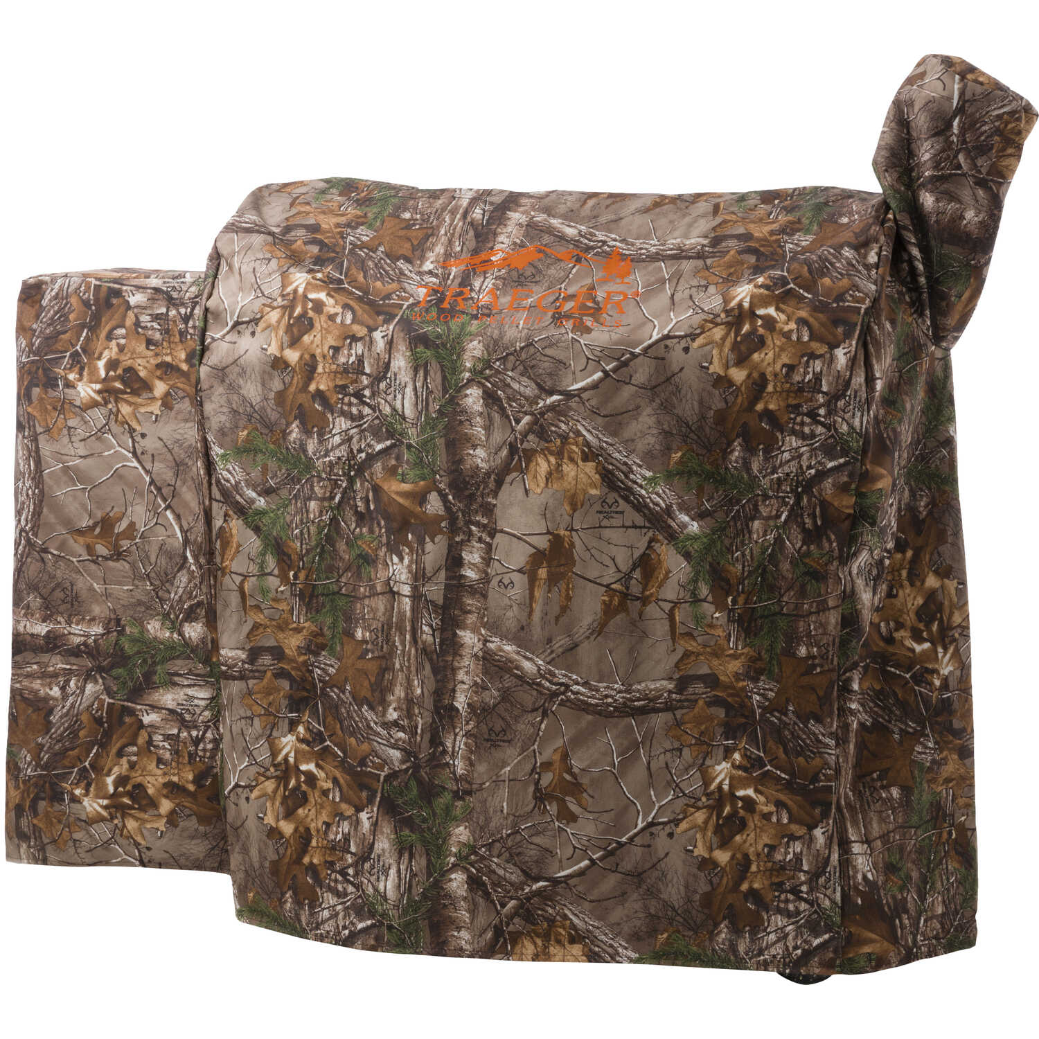 Traeger  Realtree  Brown  Grill Cover  22 in. W x 39 in. H x 49 in. D For 34 Series/Texas Grills