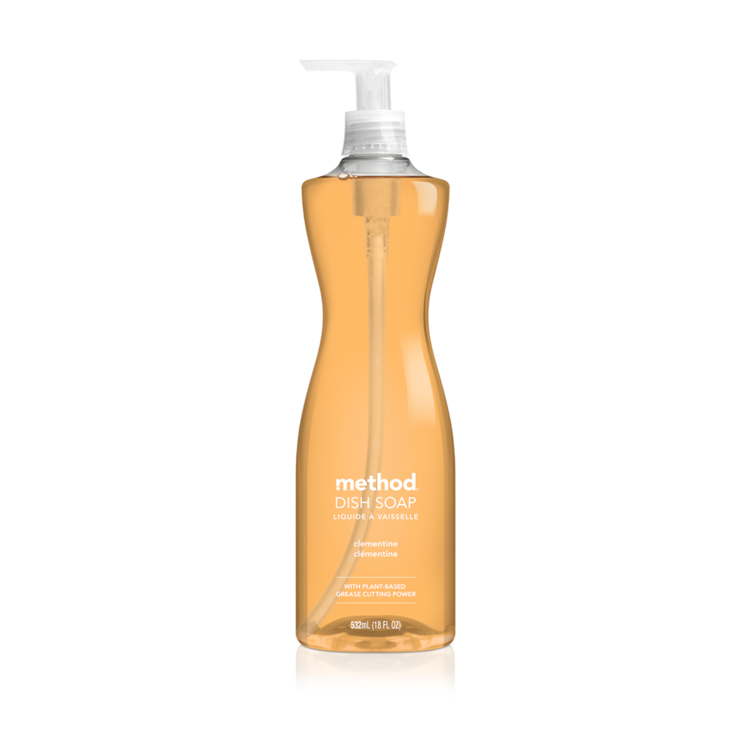 Method  Clementine Scent Liquid  Dish Soap  18 oz.