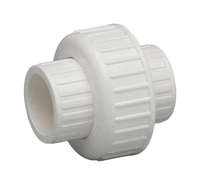 Homewerks  Schedule 40  3/4 in. Hub   x 3/4 in. Dia. Slip  PVC  Union