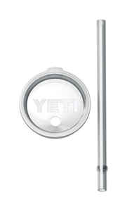 YETI  Rambler  Straw Lid  20 oz. Clear  1 each