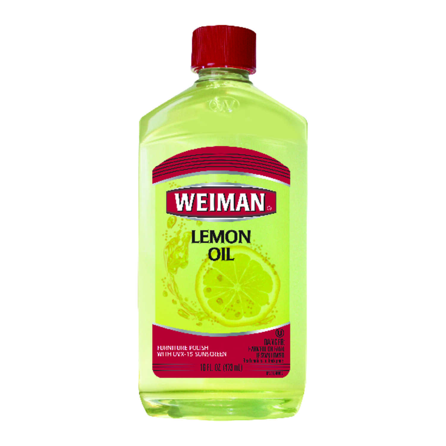 Weiman  Lemon Scent Lemon Oil  16 oz. Liquid