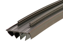 M-D Building Products Brown Vinyl Weatherstrip For Doors, Doors 36 in. L x 7/8 in.