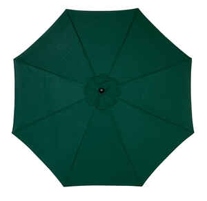 Sunline  Traditional  9 ft. Tiltable Hunter Green  Market Umbrella