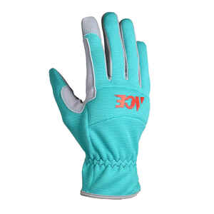 Ace  Women's  Indoor/Outdoor  Synthetic Leather  Utility  Work Gloves  L  Green