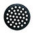 Sioux Chief  6 in. Black  Epoxy Coated  Cast Iron  Round  Floor Drain Strainer