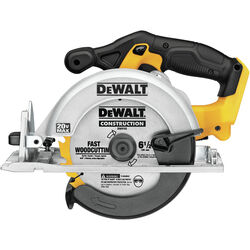 DeWalt 20V MAX 20 volt 6-1/2 in. Cordless Brushed Circular Saw Tool Only
