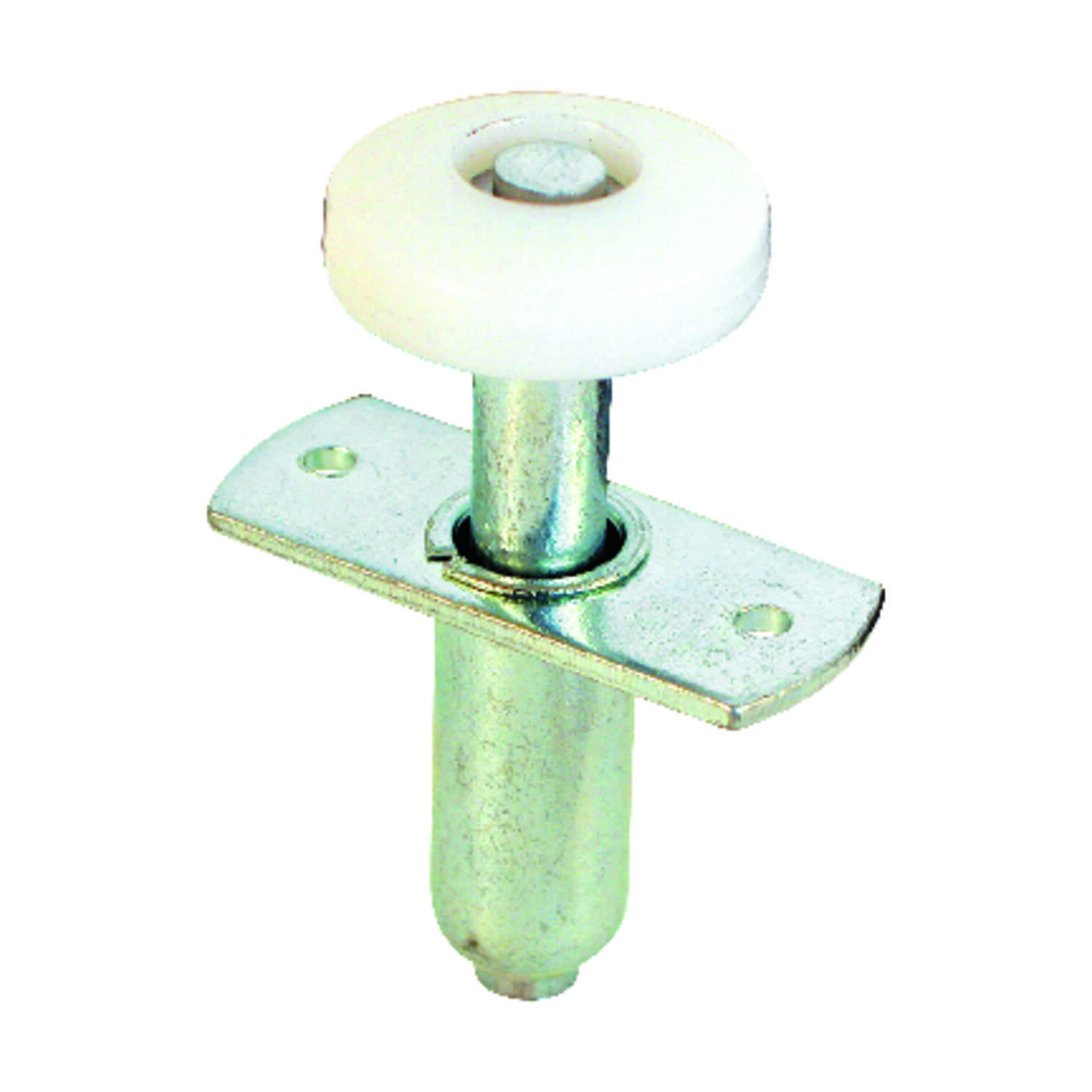 Prime-Line  Silver  Steel  Bi-fold Door Wheel Guide  1 pk