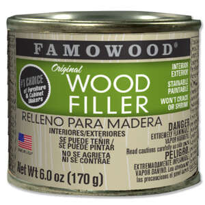 Famowood  Mahogany  Wood Filler  6 oz.