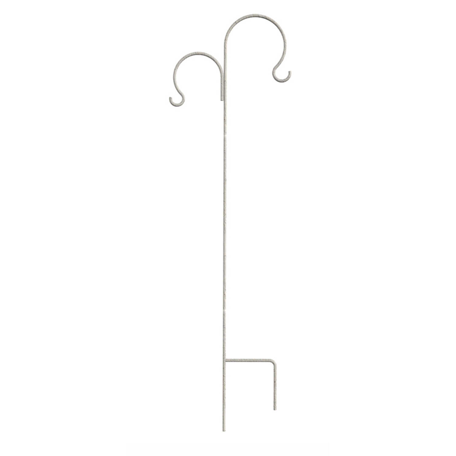 Panacea  White  Steel  72 in. H French Country  Plant Hook  1 pk