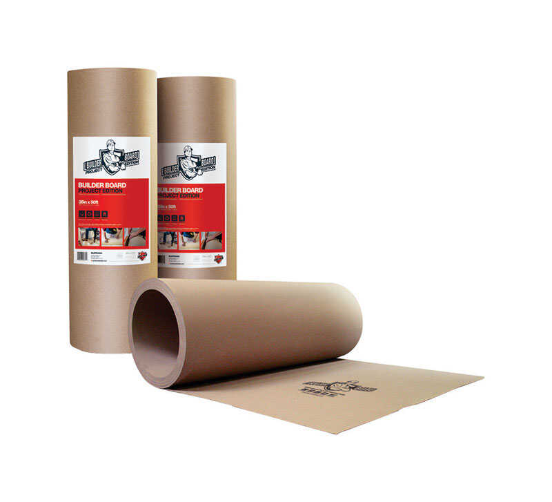 Surface Shields  Builder Board  Surface Protection  0.05 in.  x 35 in. W x 50 ft. L Paper  Brown